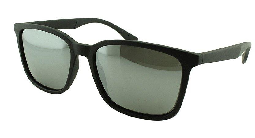 Óculos Solar Masculino Sortido MP014 Prata Espelhado