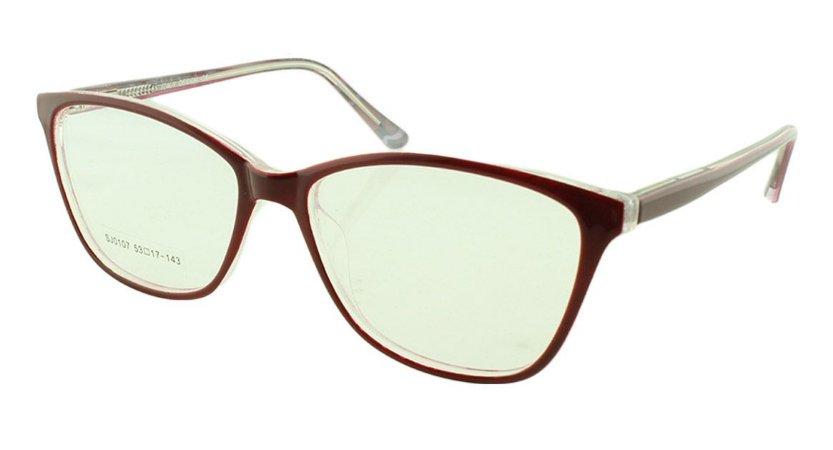 432b165f1 Armação para Óculos de Grau Feminino SJ0107 Vinho - Atacado de ...