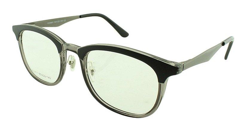 Armação para Óculos de Grau Feminino VC0601 Preta