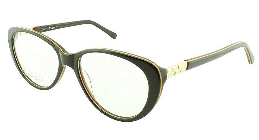 Armação para Óculos de Grau Feminino BC8182 Marrom