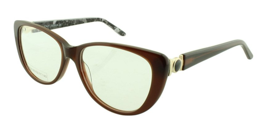 Armação para Óculos de Grau Feminino BC8185 Marrom