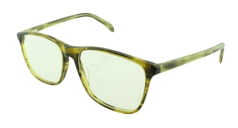 Armação para Óculos de Grau Feminino 8084 Preta e verde