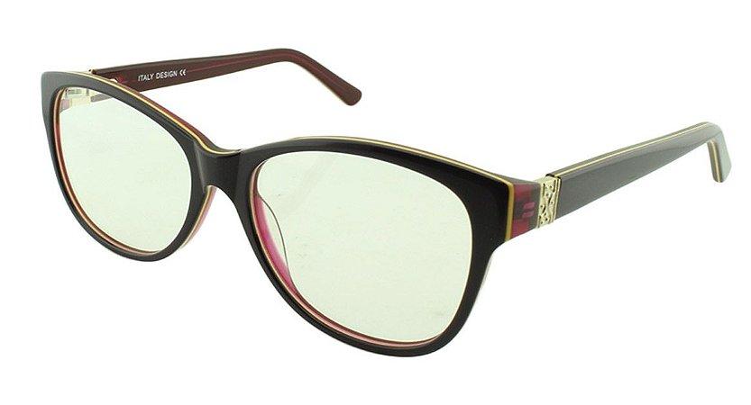 Armação para Óculos de Grau Feminino BC8176 Roxa