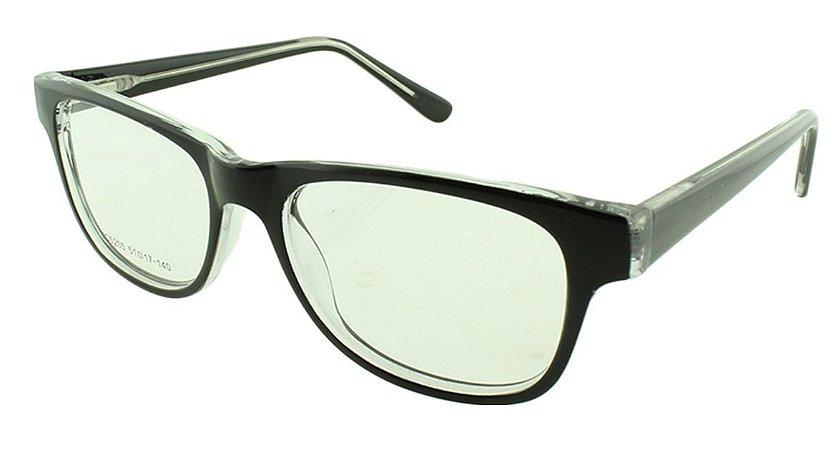 Armação para Óculos de Grau Feminino VC5205 Preta