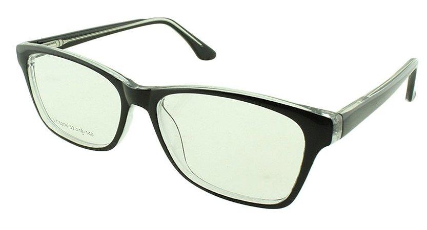 Armação para Óculos de Grau Unissex VC5206 Preta
