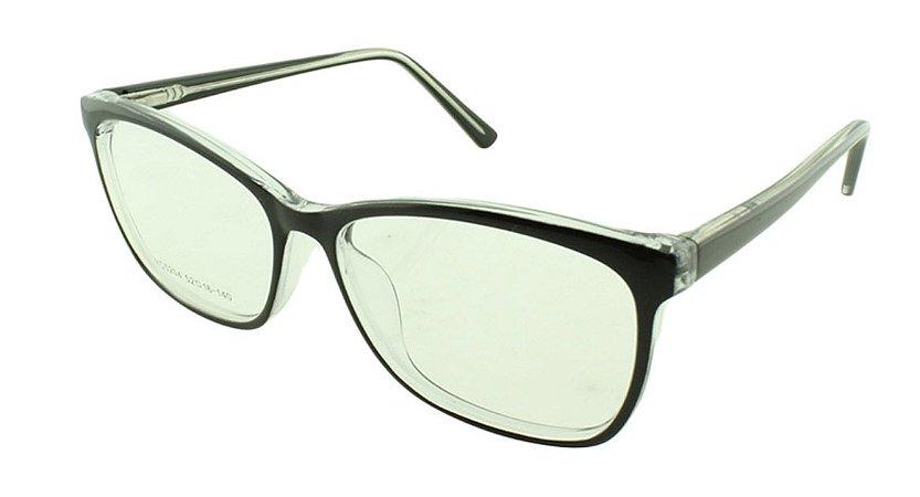 Armação para Óculos de Grau Unissex VC5204 Preta