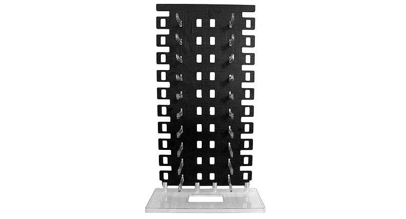 Expositor Torre para 20 Óculos em MDF EP20Z Preto