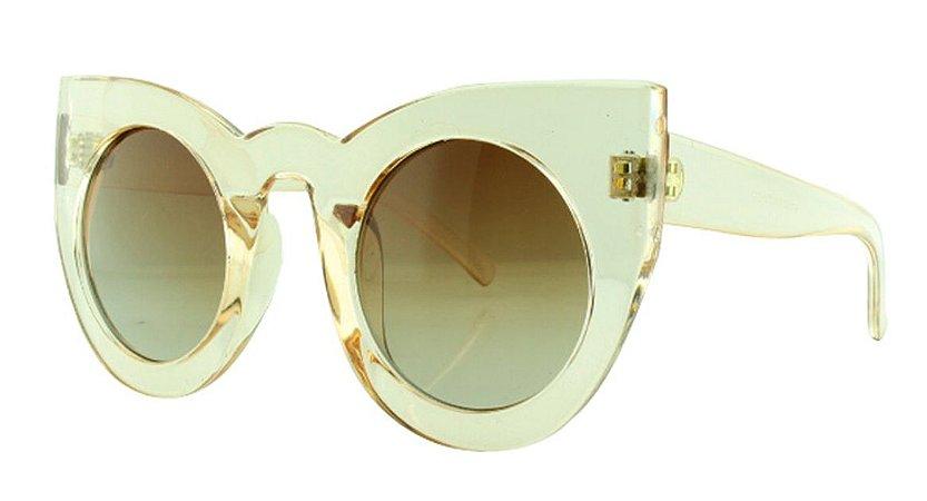 Óculos Solar Feminino Primeira Linha 97180 Caramelo Transparente