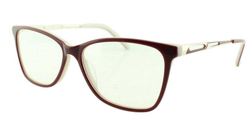 Armação para Óculos de Grau Feminino MB3511 Vinho