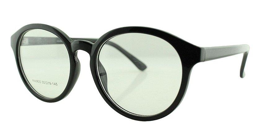 Armação para Óculos de Grau Unissex 20 Preta