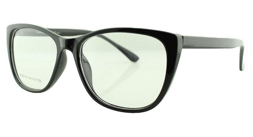 Armação para Óculos de Grau Feminino 36 Preta