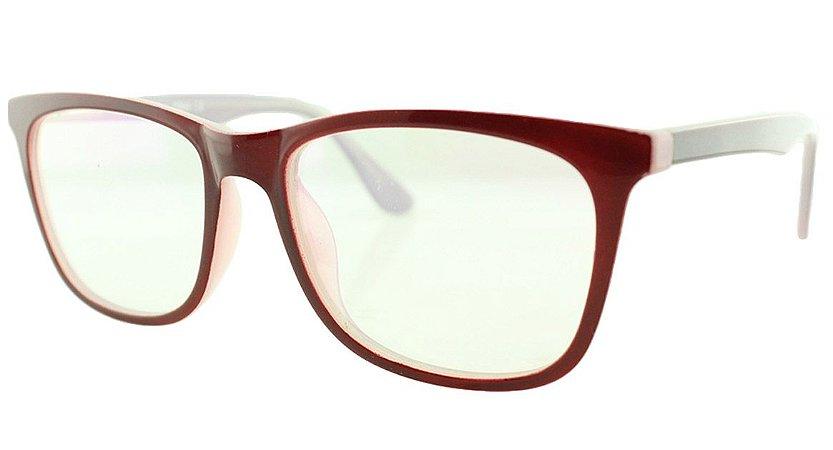 Armação para Óculos de Grau Feminino TSH7059 Vinho