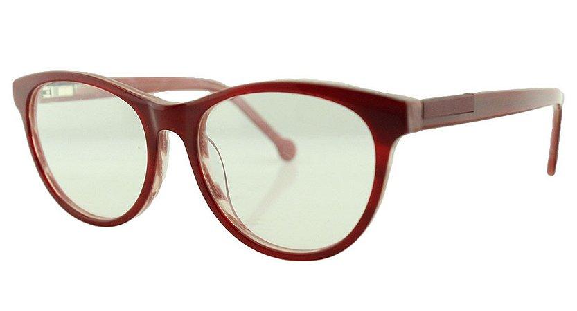 Armação para Óculos de Grau Feminino MB3003 Vermelha