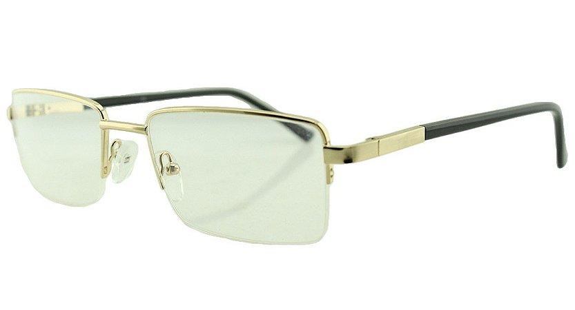 Armação para Óculos de Grau Masculino 005 Dourada