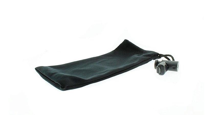 Capinha Protetora para Óculos com Regulador E Preta com 50 unidades