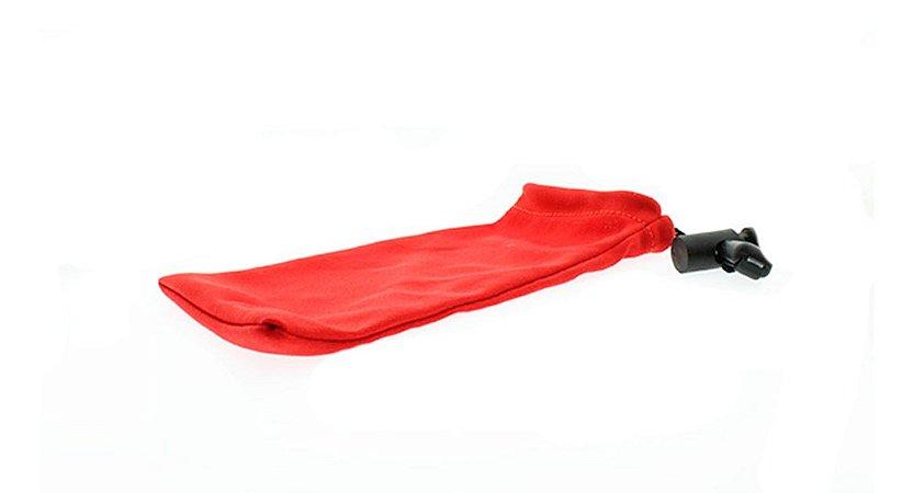 Capinha Protetora para Óculos com Regulador E Vermelha com 50 unidades