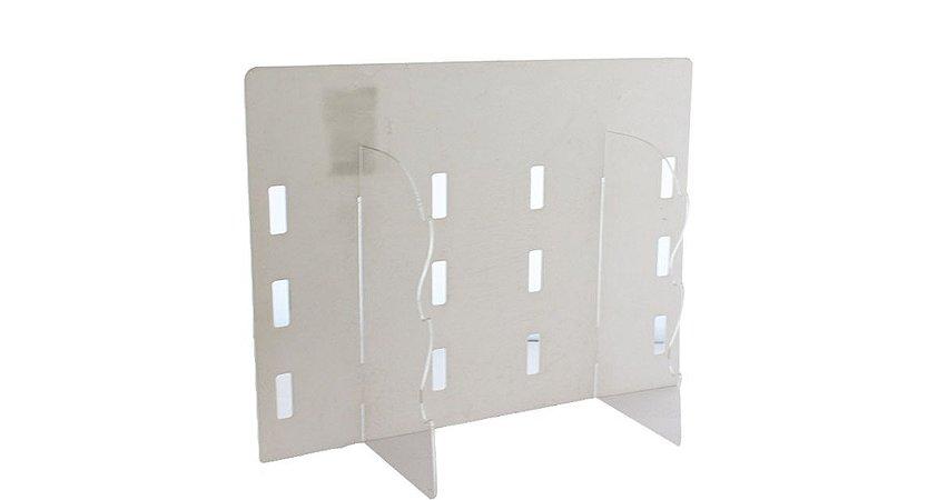 Expositor para 6 Óculos em Plástico e Acrílico OD101M Branco