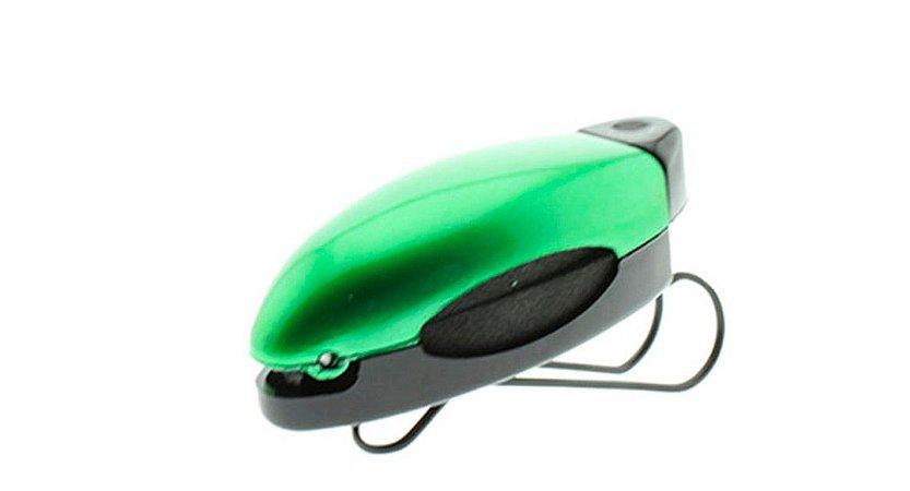 Porta Óculos Veicular para Quebra Sol Clip Car P108 Verde - Unidade