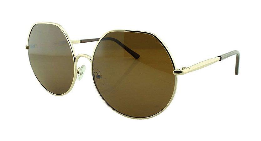 Óculos Solar Unissex Primeira Linha JB91003 Marrom