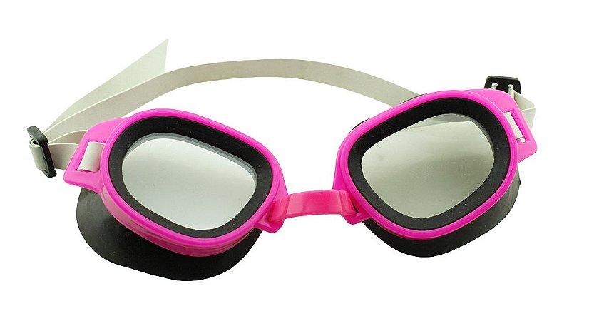 Óculos para Natação Infantil ELT00433 Rosa e Preto