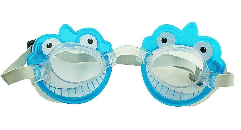Óculos para Natação Infantil ELT00434 Tubarãozinho Azul