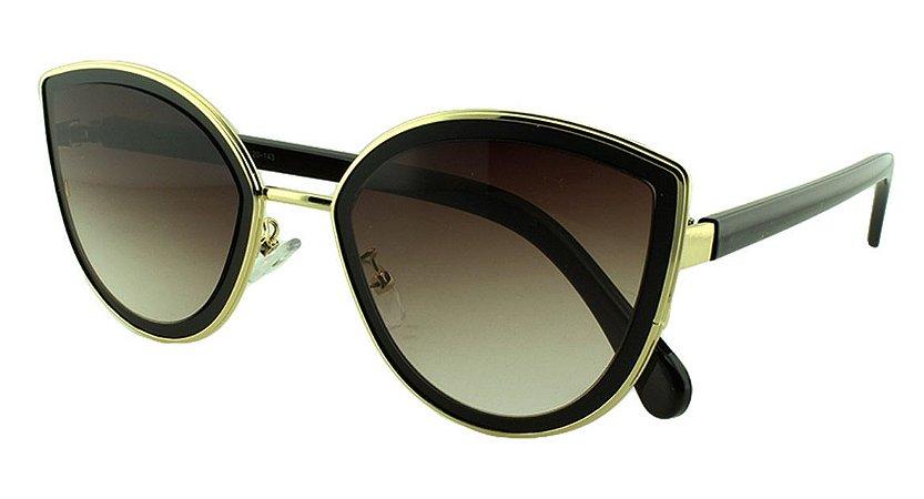 Óculos Solar Feminino Primeira Linha MC5002 Preto Degradê