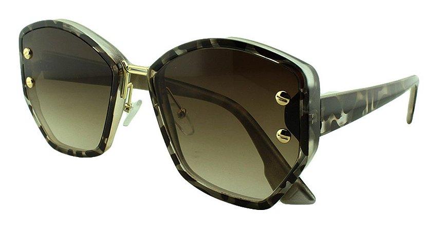 Óculos Solar Feminino Primeira Linha S98512 Mesclado