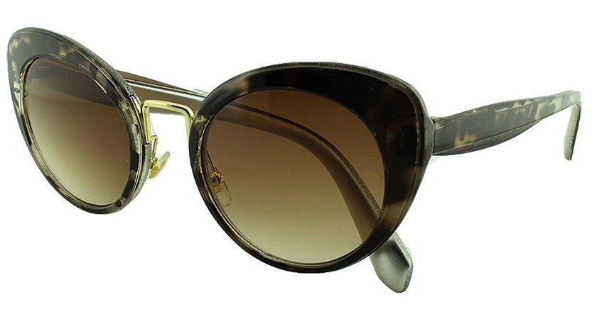 Óculos Solar Feminino Primeira Linha SMU06T Mesclado