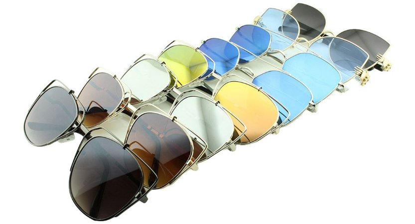 Kit Óculos Solar Sortidos 06 com 8 Peças