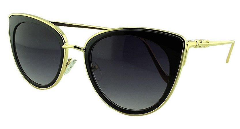 Óculos Solar Feminino Primeira Linha S1870 Preto