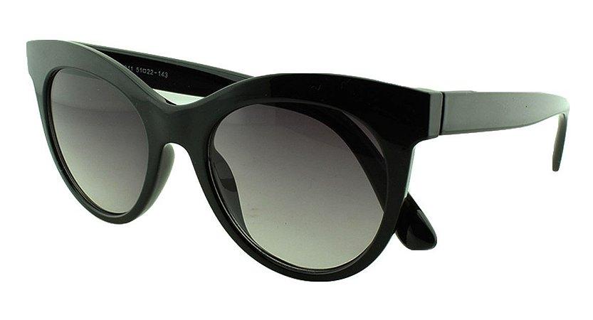 Óculos Solar Feminino Primeira Linha 4311 Preto Degradê