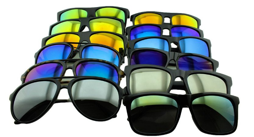 Kit Óculos Solar Sortidos 04 com 12 Peças