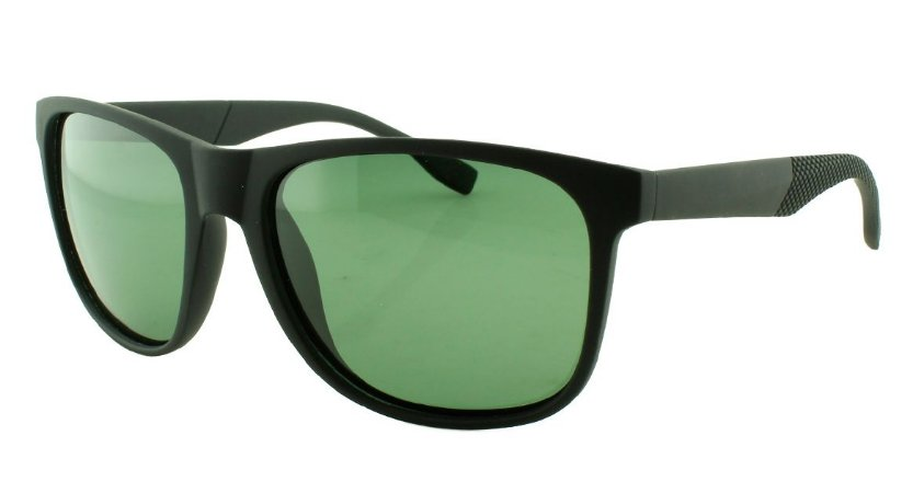 Óculos Solar Masculino Primeira Linha Polarizado 18008AZ Preto e Verde