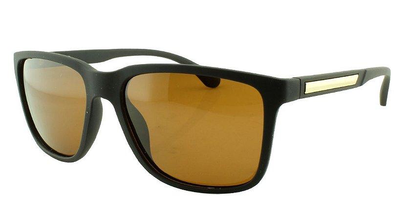 Óculos Solar Masculino Primeira Linha Polarizado 18004AZ Marrom
