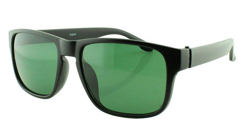 Óculos Solar Masculino 750054 Preto e Verde