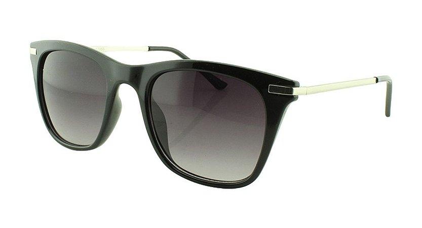 Óculos Solar Unissex RV17055 Preto Degradê