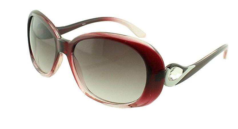 Óculos Solar Feminino 8622 Vinho
