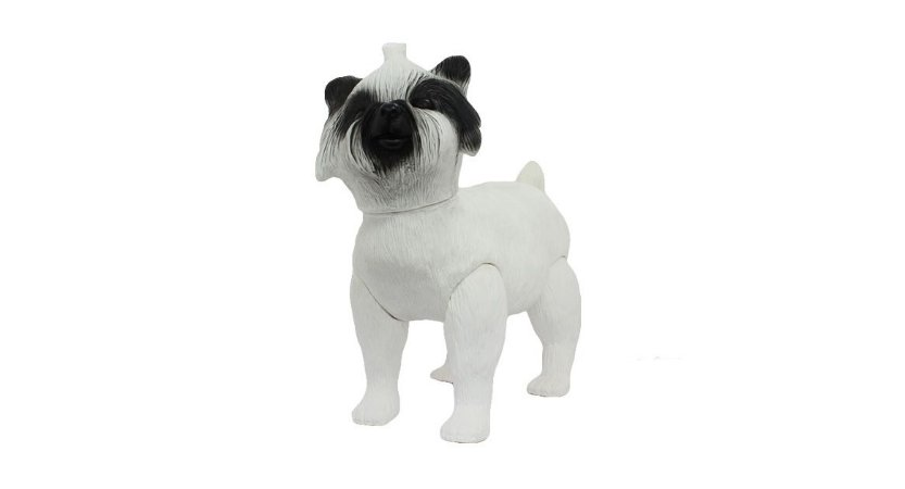 Manequim de Cachorro West Highland White Terrier para Pet Shop 143