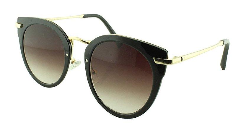 Óculos Solar Feminino Primeira Linha 2754 Preto