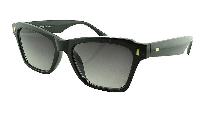Óculos Solar Feminino Primeira Linha 40058S Preto