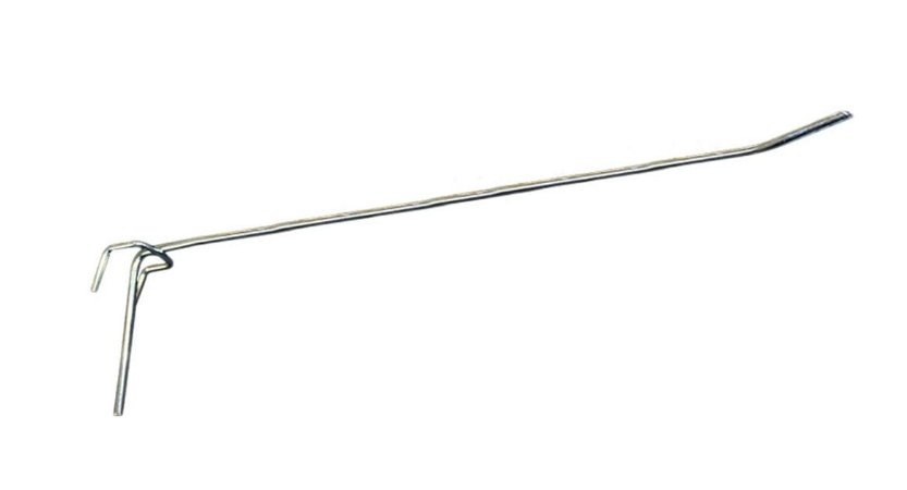 Gancho para Tela Expositora 25cm Zincado GT25 - Dúzia