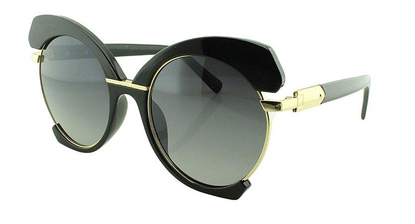 Óculos Solar Feminino E8050 Preto