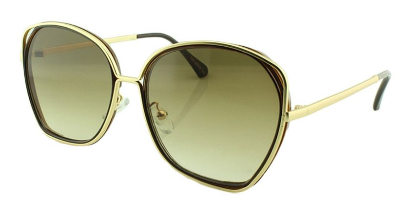 Óculos Solar Feminino Primeira Linha T23 Marrom
