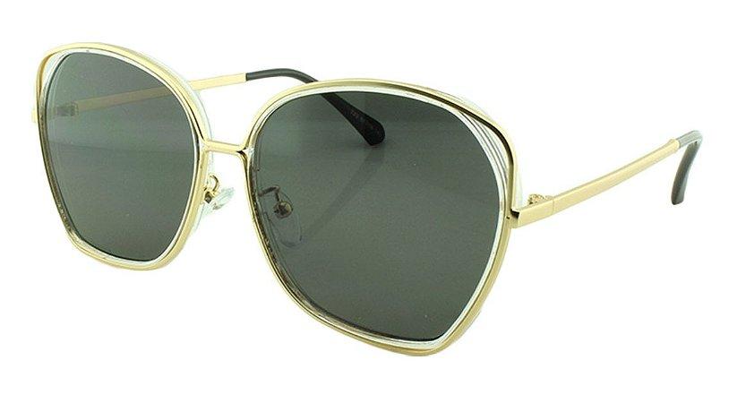 Óculos Solar Feminino Primeira Linha T23 Transparente