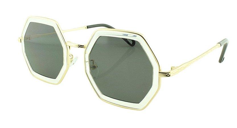 Óculos Solar Feminino Primeira Linha T26 Transparente