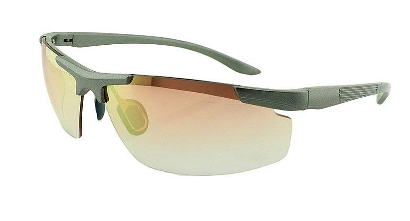 43efa4b3d Óculos Solar Unissex Esportivo XR52512 Rosa Espelhado - Atacado de ...