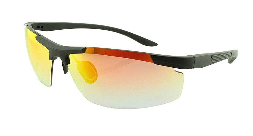 Óculos Solar Unissex Esportivo XR52512 Laranja Espelhado