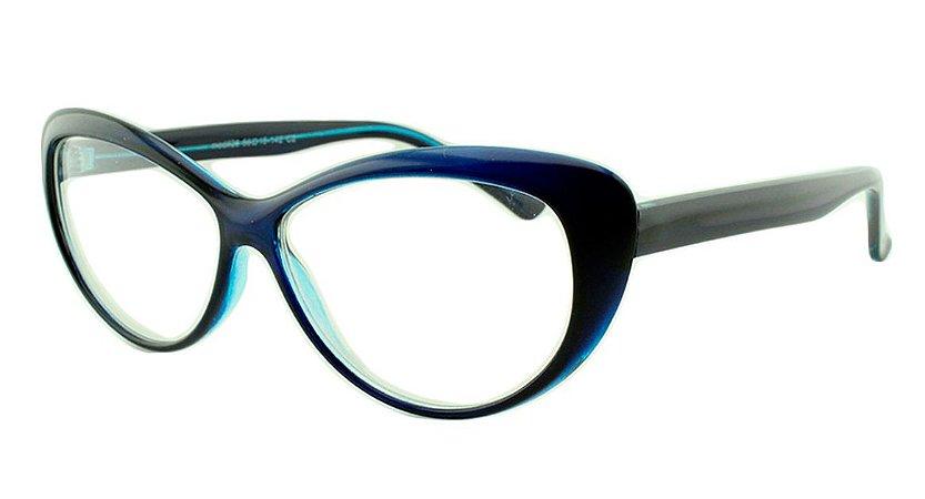 Armação para Óculos de Grau Feminino 26 Azul