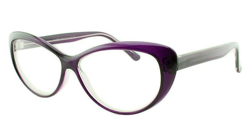 Armação para Óculos de Grau Feminino 26 Roxa