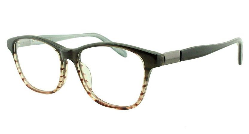 Armação para Óculos de Grau Feminino 8826 Preta Degradê